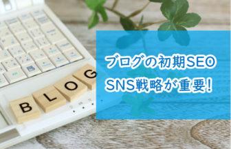ブログの初期SEOはSNS戦略が重要
