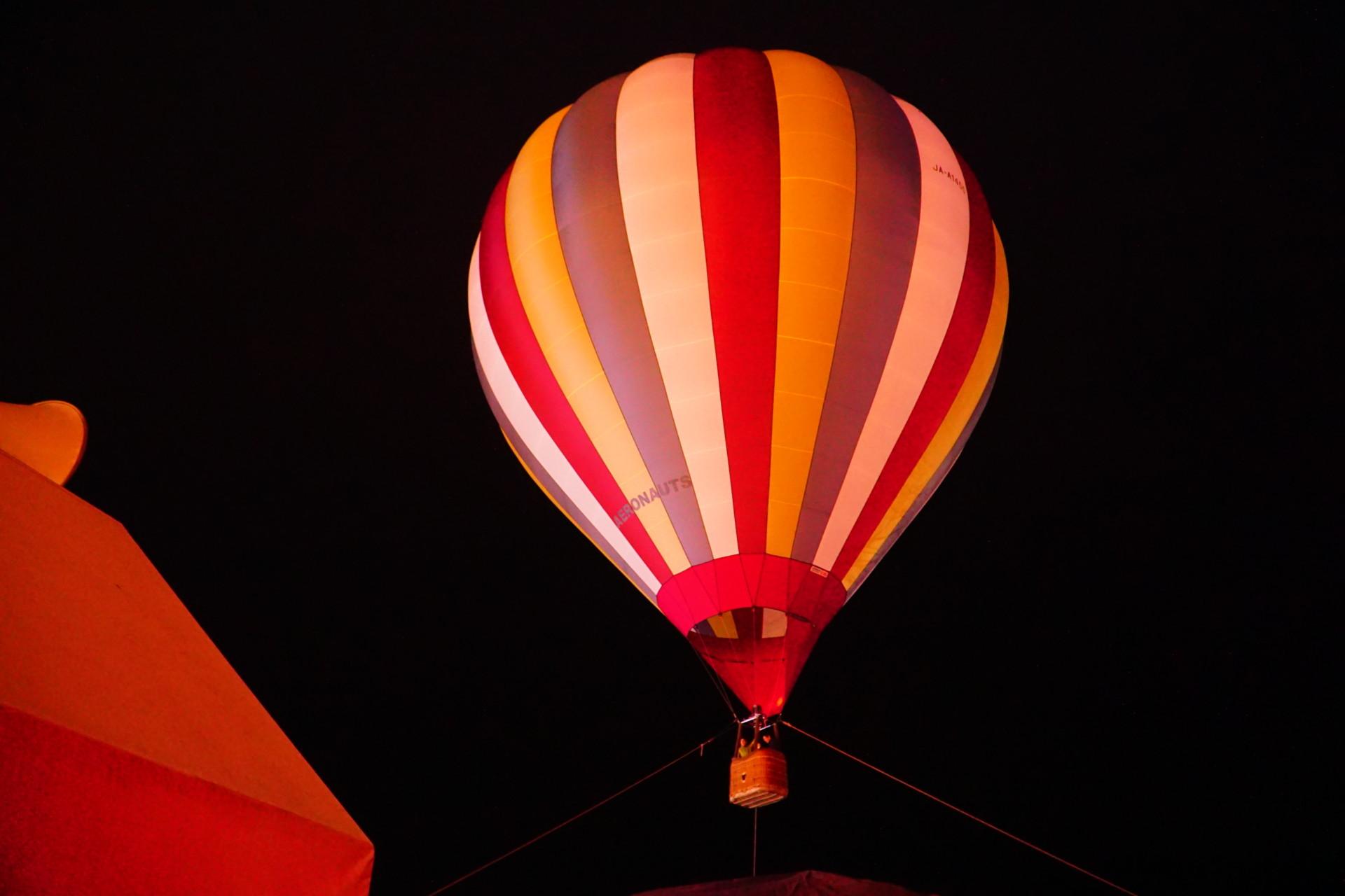 イルミリオンの熱気球