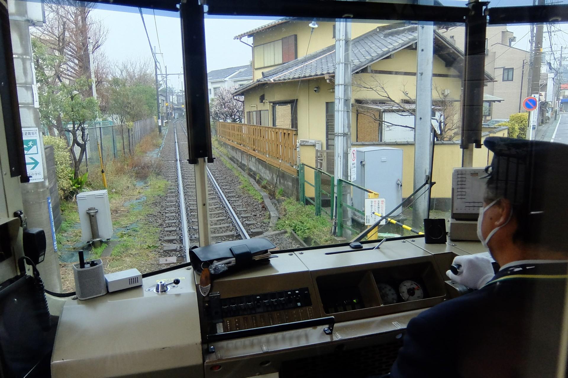 江ノ電の車窓風景
